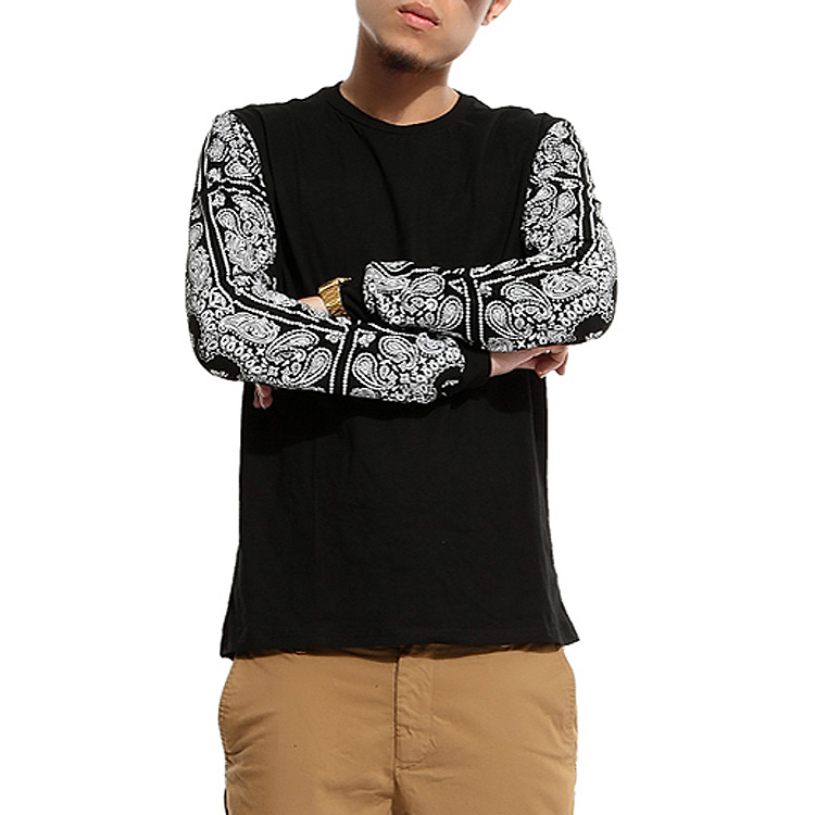 2015 new arrival t-shirt male o-neck autumn winter long-sleeve fashion casual trend plus size XXL.3XL.4XL.5XL.6XL.7XL.8XL