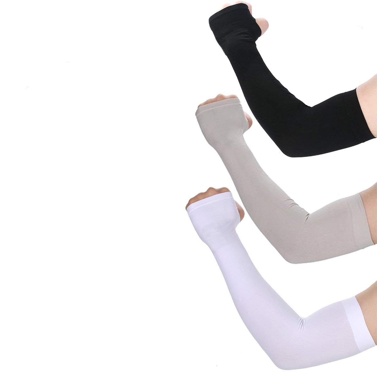 UV Protection Cooling Arm Sleeves- UPF 50 Sun Sleeves Arm Cover Sleeves