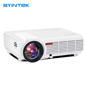 Best Cost-effective Family TV Home Theater 5500 High Lumens Full HD LED Android Projector , 3D1080p HDMI LCD Proyector