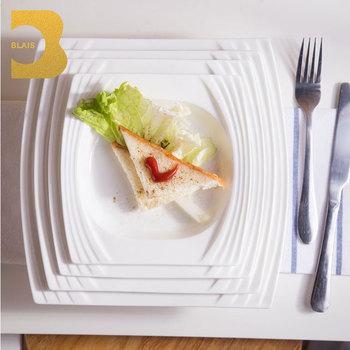 chaozhou porcelain/bone china steak dinner 7\u0026quot; 8\u0026quot; 9\u0026quot; square restaurant plates & Chaozhou Porcelain/bone China Steak Dinner 7\