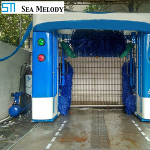 Rollover Automatic Car Wash Machine Price With 5 Brushes
