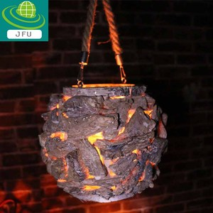 Handicraft Coconio Wood Lattice Lantern , wood candle lantern basket