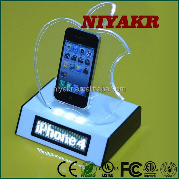 USB Rechargeable Programmable Electronic Mini Scrolling Led Price Tag