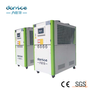 Food Processing 20ton 20hp Industrial Air Cooled Water Chiller