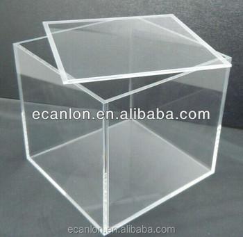 transparente plexiglas boxen mit deckel abdeckung buy box verpackung acryl make up. Black Bedroom Furniture Sets. Home Design Ideas