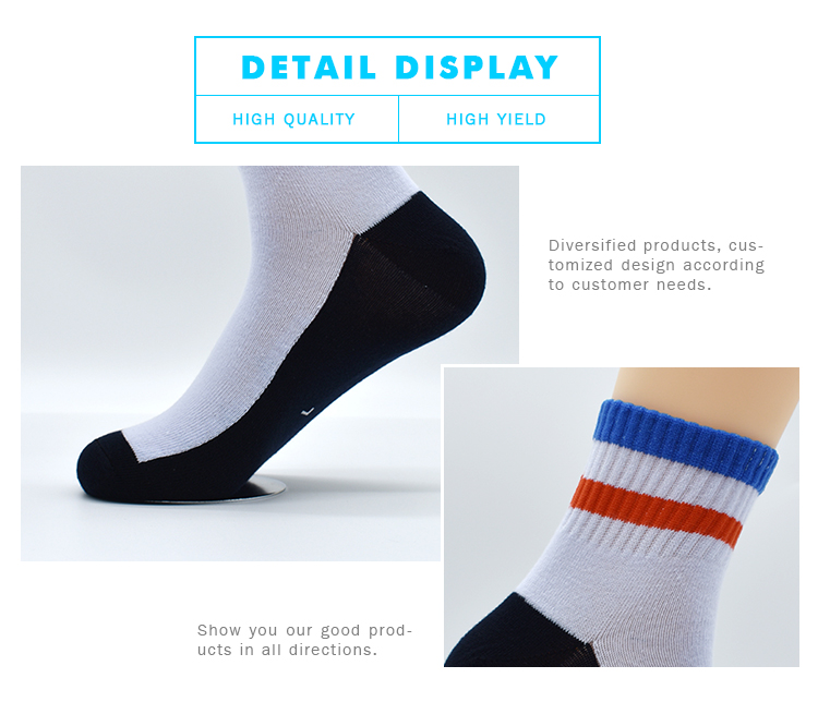 High Quality Kids Children Cute Tube Cotton Knitted Anti Skid Fuzzy Sports Crew Compression Running Socks