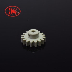 hot selling plastic injection molding gear PVDF spur gear