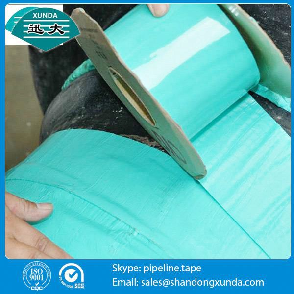 xunda brand pipe wrapping tapes in china for buried pipe
