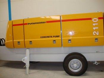 Putzmeister Stationary Concrete Pump Bsa 2110 Hpd Buy