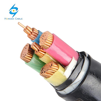 CU XLPE PVC DSTA PVC 0.6/1kV Double Steel Tape Armoured Cable