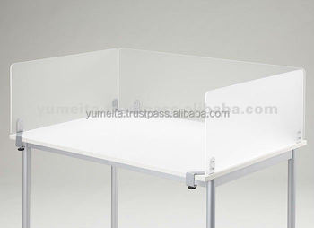 japanese high quality office furniture frosted acrylic panel screen acrylic office furniture