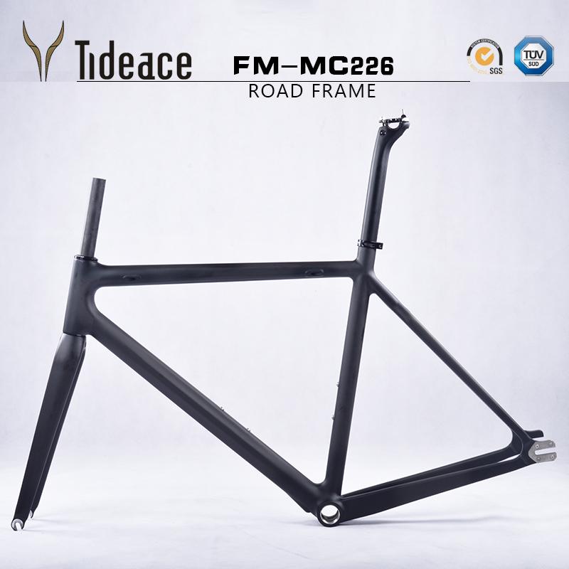 Tideace bicicleta marco freno de disco Ciclocross Di2 Taiwán carbono ...