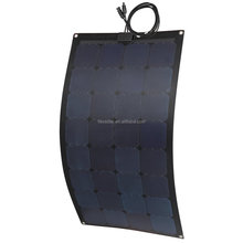 FlexSolar ETFE integrated lamination semi-flexible 100w 150w 205w customized solar panel
