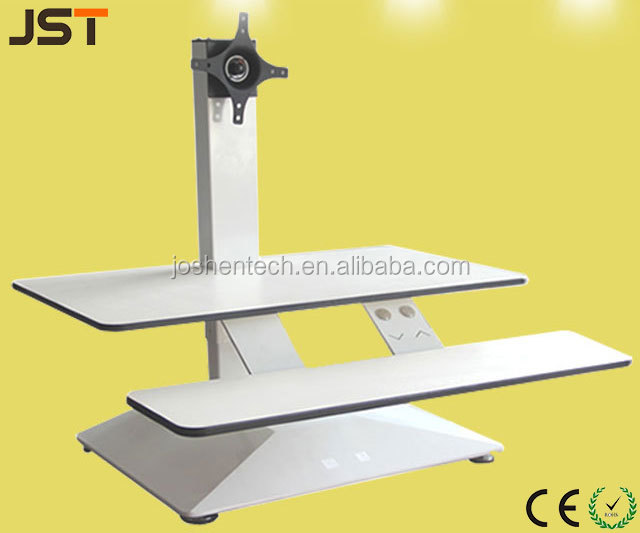Lifting Platform Electric Height Adjustable Desk Adjuster with Single Lifting Leg JS-T2