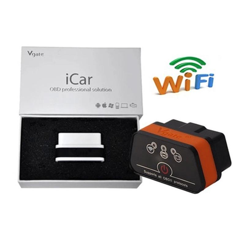 Good Quality Vgate Wifi iCar 2 OBDII ELM327 iCar2 wifi vgate OBD diagnostic interface for IOS