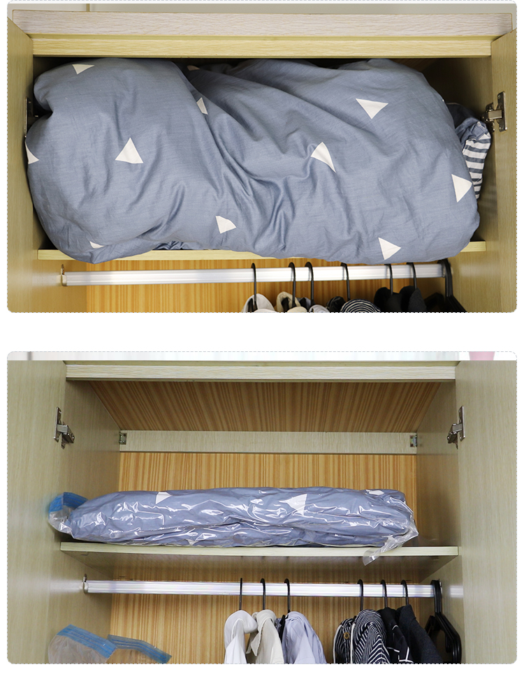 2019 new arrival spacesaver vacuum storage bag for mattress
