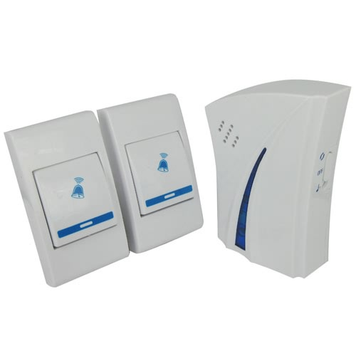 Get Quotations · 2pcs/lot Home Entry Door Bell Chime Doorbell Wireless  Remote Control Alarm With 36 Melody