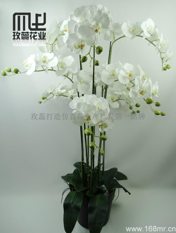 neue dekorative k nstliche orchidee topf blume anordnung buy orchideenbl te k nstliche. Black Bedroom Furniture Sets. Home Design Ideas