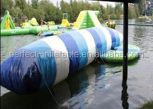 0.9mm PVC tarpaulin durable inflatable water jumping pillow