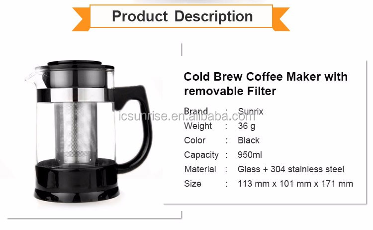 Cheap Price Portable Stainless Steel Filter Coffee Maker