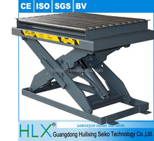 Hydraulic Scissor Conveyor Lift .hydraulic double scissor lift table/lift table/roller conveyor lift table