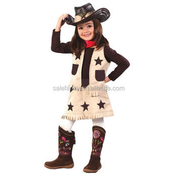 New style child cowgirl costume fairy costume child QBC-5377  sc 1 st  Alibaba & New Style Child Cowgirl Costume Fairy Costume Child Qbc-5377 - Buy ...