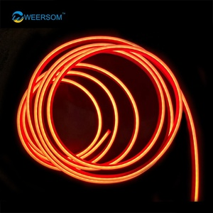 2835 Small Size 6x12mm ultra thin waterproof led strip light flexible neon armour flex