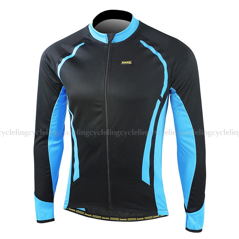 b1165aa3d Get Quotations · 2015 SANTIC Cycling Long Jersey Long Sleeve Bike Wear Bike  Cycling Jerseys Bicycle Clothing Clothes Moto