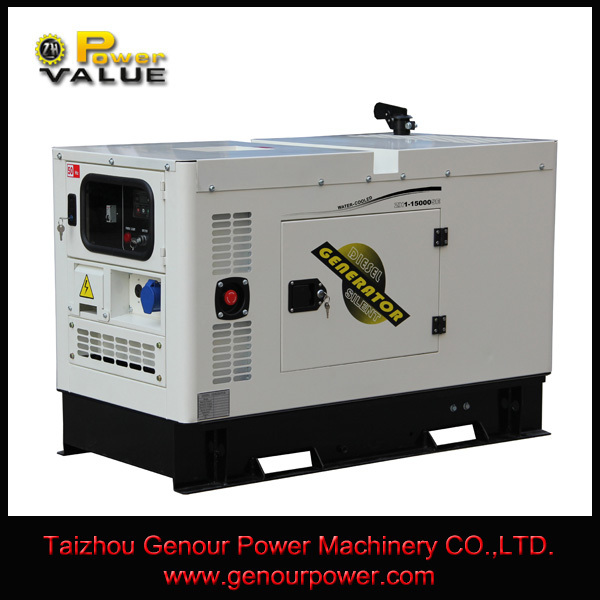 Power Value China Zhejiang 12KW CE ISO 12kv Generator Set