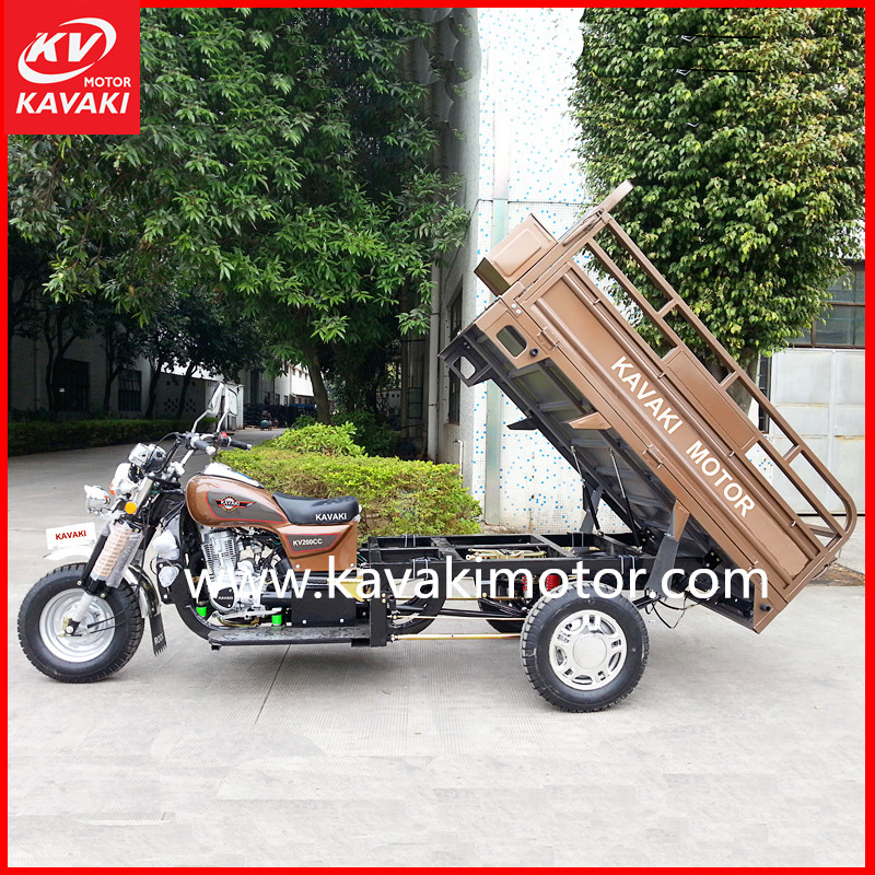 China 200cc motorized large tricycle 3 wheel motorcycle auto rickshaw price in india
