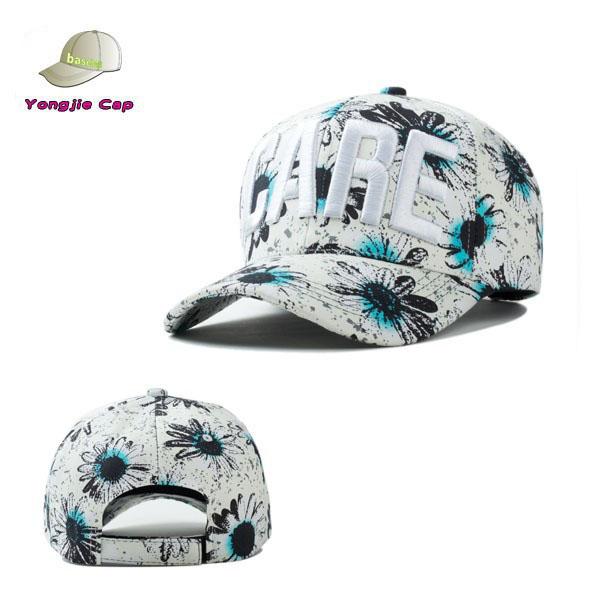 40d683387385b Orden al por menor patrón de flores al por mayor venta caliente de alta  calidad sombreros