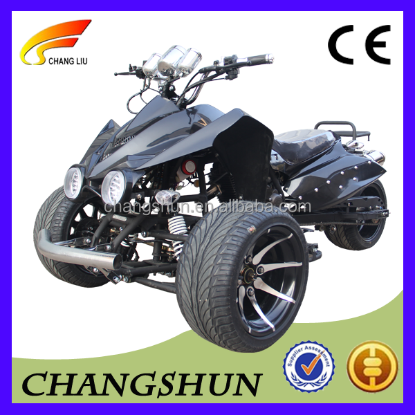 250cc four wheel three wheel air cooling atv quad bike for adult