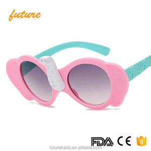 Kids Elephant Nose Sunglasses Children Sun Glasses Baby Sun-shading Eyeglasses Boys Girls Decoration UV400 x6153