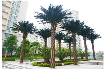 Good Quality Plastic Succulent Plants Artificial Palm Trees