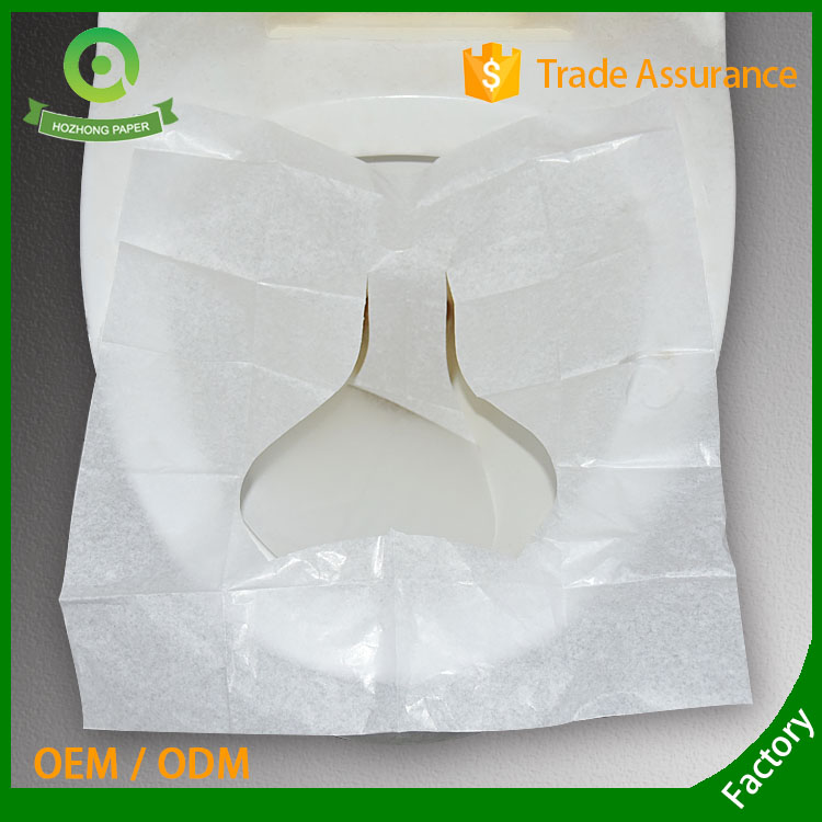 1/16 fold paper toilet seat covers