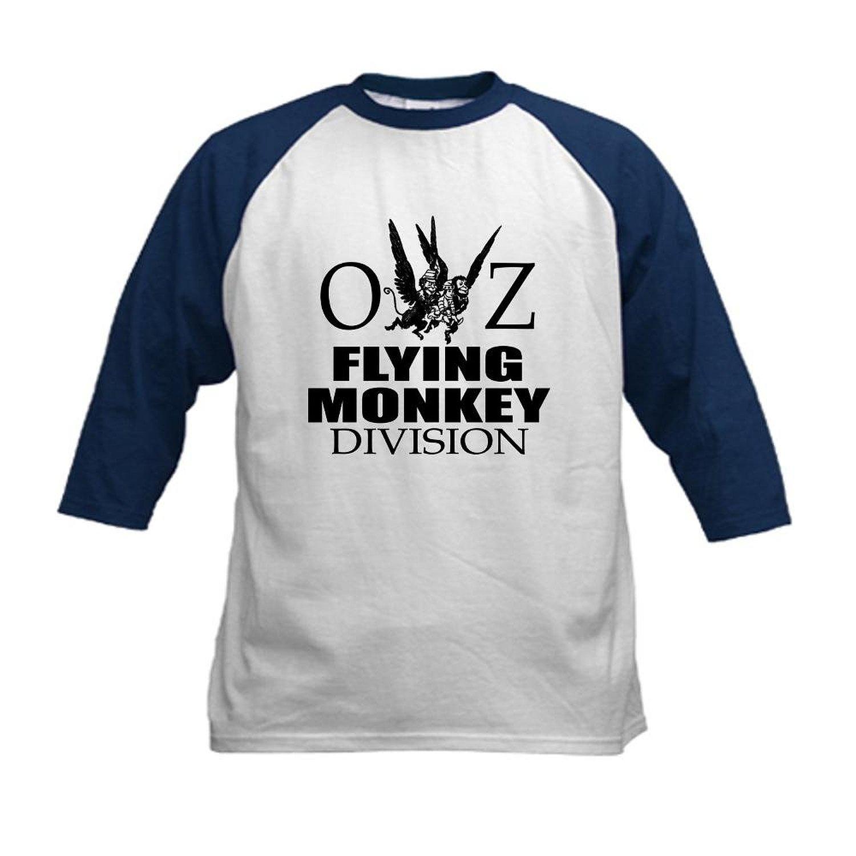 3c50128701a Get Quotations · CafePress Kids Baseball Jersey - OZ Flying Monkey Division  Kids Baseball Jersey
