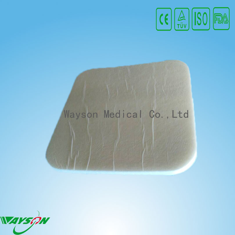 China Supplied Medical Polymer Materials & Products Properties and General Medical Supplies Type foam dressing wound care