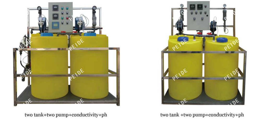 Automatic Chemical Dosing System With Chemical Dosing Pump