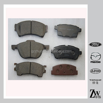 Auto Brake Pad/brake Pad Cross Reference/brake Pad Hi-q Dgy0-33-28z - Buy  Auto Brake Pad,Brake Pad Cross Reference,Brake Pad Hi-q Product on