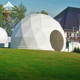 China Made glamping resort dome geodesic glass yurt tent
