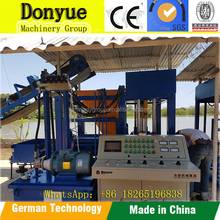 Hydraulic Pressure Method and Hollow Block Making Machine Type QT4-25 fully automatic fly ash brick plant