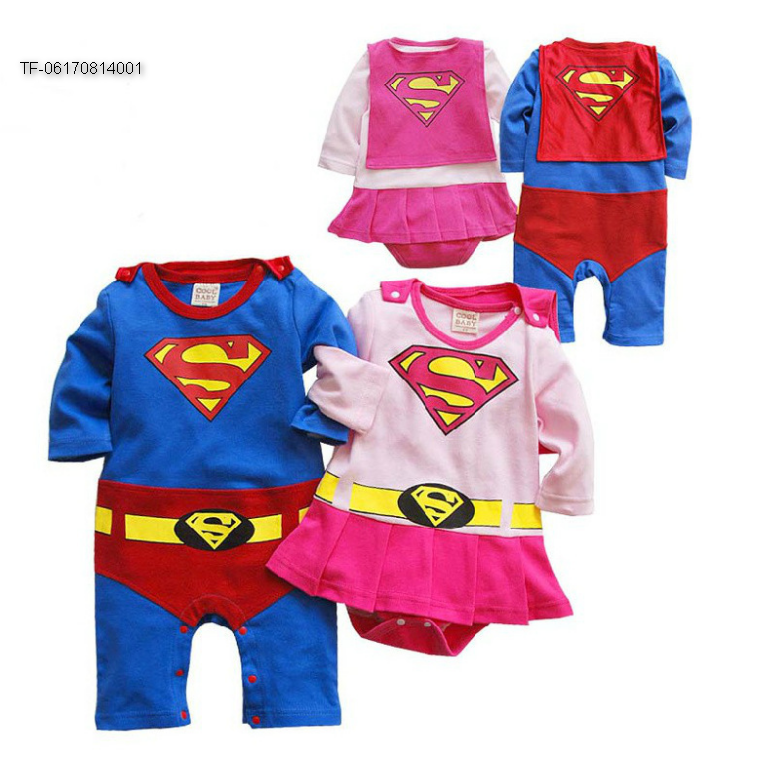 Spiderman Baby Romper Boys Girls jumpsuit Baby Outfit Fancy Dress