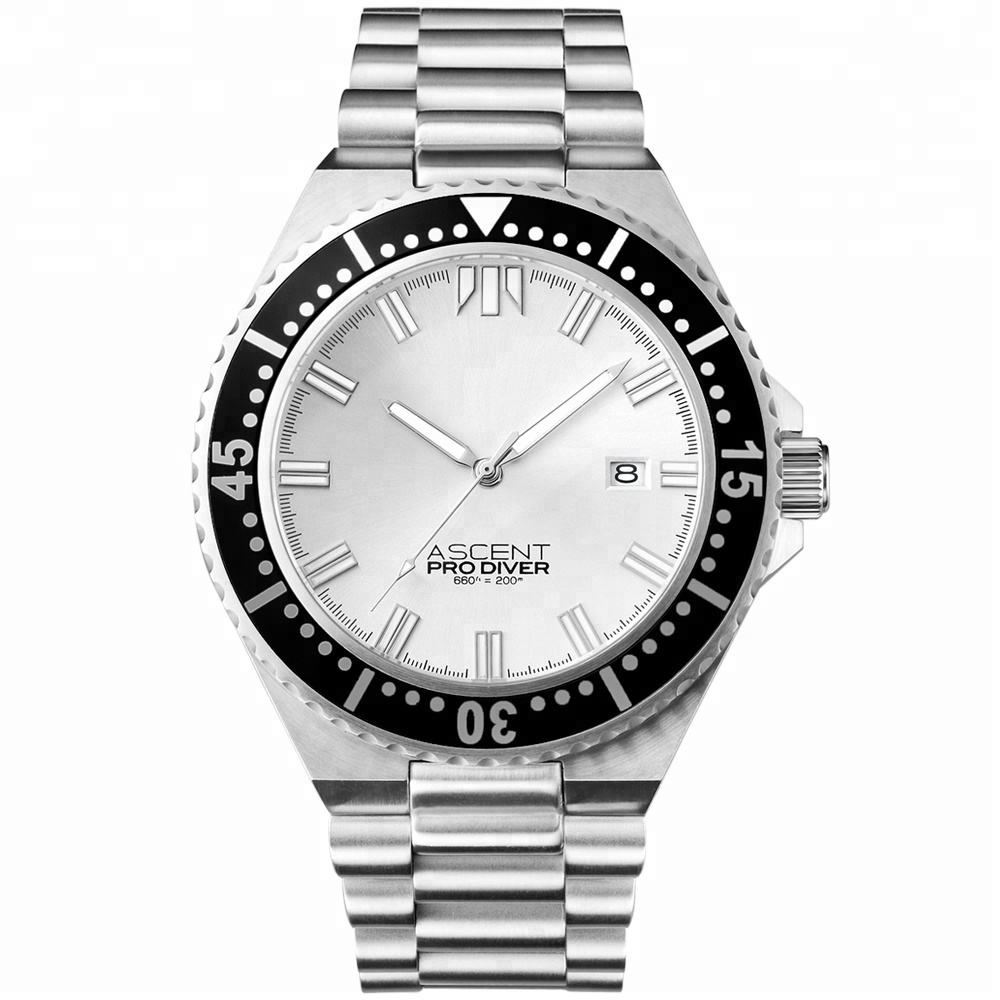 Stainless Steel Automatic 5Atm Luxury Mens Mechanical Watches for Men