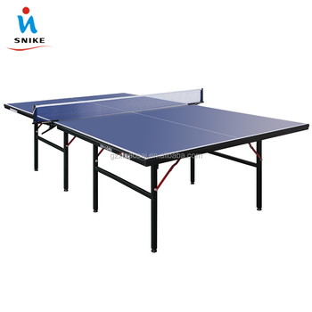 Latest Folding Family 25mm MDF Wood Optional 8 Feet Table Tennis Tables