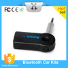 Universal 3.5mm Wireless Bluetooth Car Kit AUX Audio Music Receiver Adapter Handsfree with Mic For Phone MP3 Audio Music Car Kit