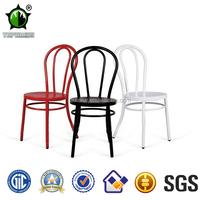 Replica Antique Gunmetal thonet chair in metal furniture