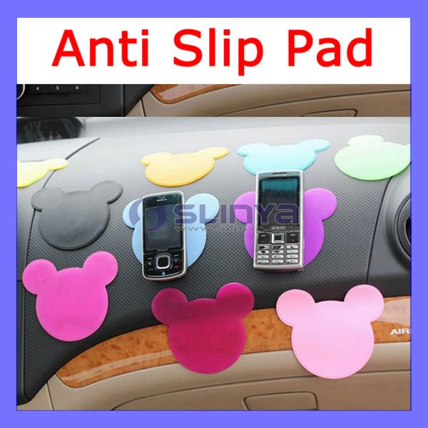 Cute Cat Silicone gel mobile phone mat pad Anti Slip Mat