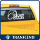 decal sticker/removable window sticker removable electrostatic sticker