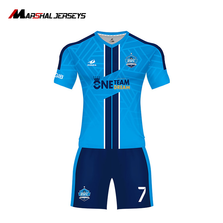 Hot sale wholesale soccer uniform customized cheap big size football set  reversible soccer jersey set 76730de1a