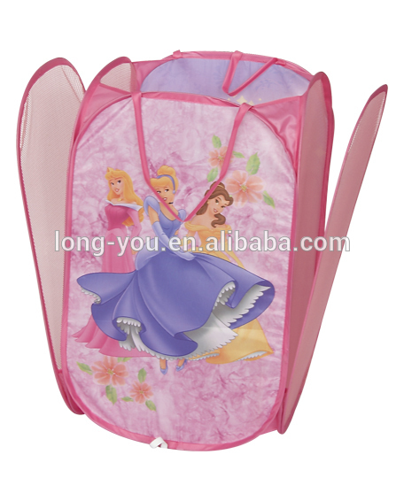 Cute Laundry Bags lovely cartoon kids pop up laundry hamper foldable laundry basket
